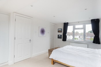 Picture above is a photo of renovated bedroom by toploftslondon